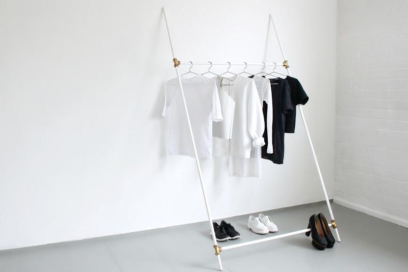 love aesthetics diy leaning rack 05